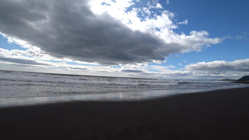 Камчатка. Тихий океан.