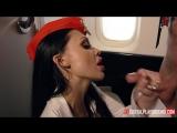 Aletta Ocean секс со стюардессой Porn in FullHD (1080p)