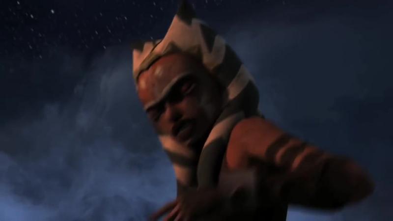 Тёмная Асока против Энакина и Оби Вана