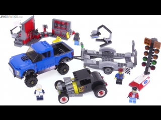 LEGO®Speed Champions ● 75875 Ford F-150 Raptor Model A Hot Rod review!