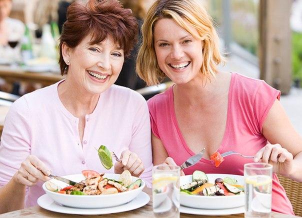 Питание для женщин старше 45-ти лет