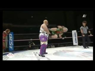 5. Aja Kong, Cassandra Miyagi vs. Meiko Tanaka, Sareee (10/11/15)