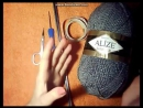 Вязаная шапка спицами♥Простая женская шапка мастер класс♥lesson 1.Шапка бини спицами♥