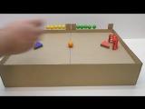 Как сделать хоккей с мячом с магнитами