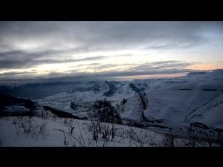 перевал между Кисловодском и поселком Теберда КЧР