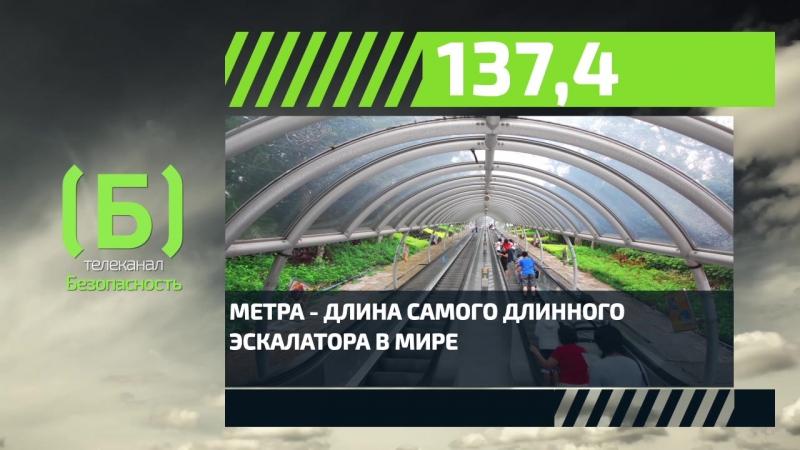 Какова длина самого большого эскалатора в мире?