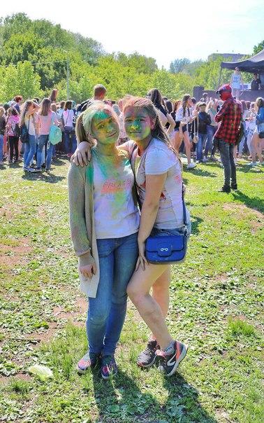 Фестиваль красок на Воронежских озёрах