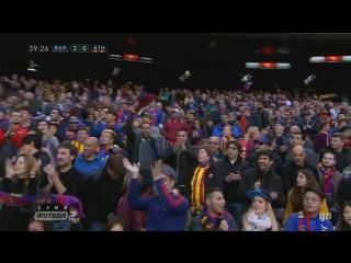 Барселона - Атлетик. Гол Месси