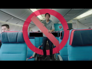 Turkish Airlines Safety Video with Zach King