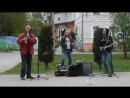 импровизации на аллее Рязанского кремля 9 мая 2017