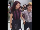 FANKAM 2017 09 12 ParkShinHye at Coach Spring 2018 Runway Show NYFW CoachSpring1941
