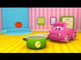 Умные Машинки - развивающие мультики для малышей от 6 месяцев до 1 года, овощи для малышей