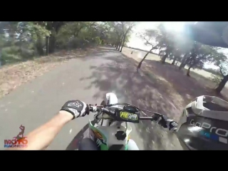 12 Minutes of Police Chase Getaways _ Cops Vs Dirtbikes 2016