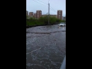 После дождя, ул. Энергостроителей г.Тюмень