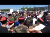 Избиение Навального казаками в Анапе (полная версия, 17.05.2016)