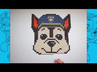 Щенячий патруль - мозаичная картинка от Nick Jr.