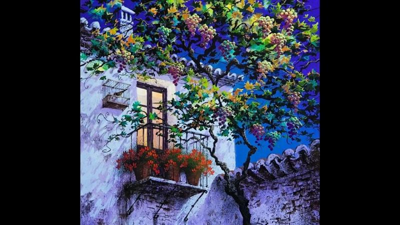 Луіс Ромеро. Пейзажі. Іспанія.