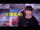 170822 Lay Weibo Update (the video he quoted for 'Cars 3')