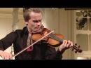 Dmitry Smirnov (violin) English Hall of St. Petersburg Music House 2017-06-23 Part 1