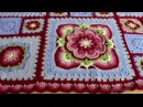 My 'Rose of Avalon' Crochet Blanket Ta-Dah Vlog - Pattern by Helen Shrimpton / Deramores