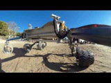 Rover Ride-Along in the Mars Yard (360 Video)