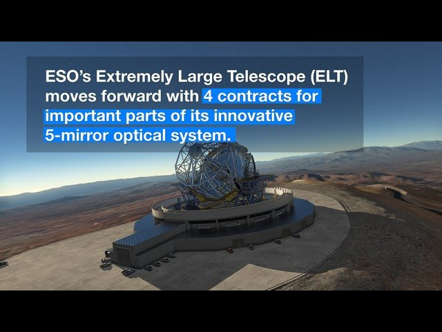 ESOcast 93 Light: Kick-off for Mirrors and Sensors for Biggest Eye on the Sky (4K UHD)