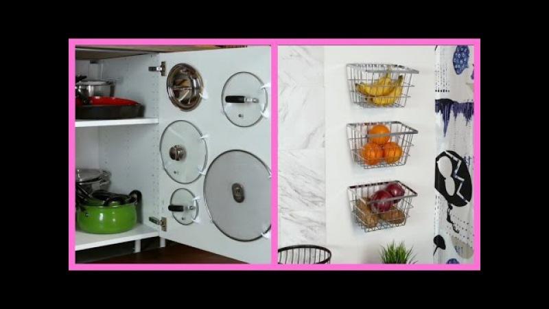 IDEAS PARA ORGANIZAR UNA COCINA PEQUEÑA | DIY KITCHEN IDEAS COMPILATION