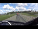 страшная авария на мото треке/ terrible accident Moto track