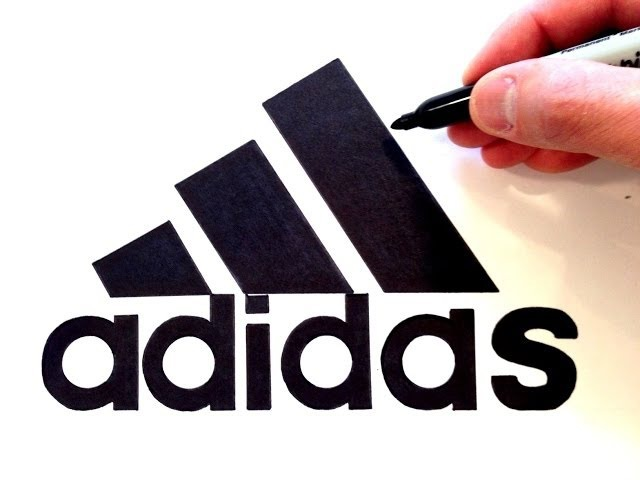 Drawn Famous Logos By Hand (Seb Lester)