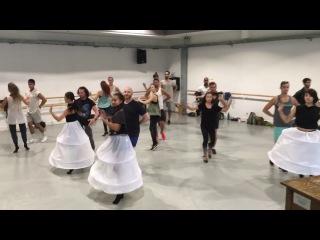 Once Upon A Time Season 6 Dance Rehearsal