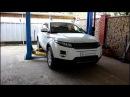 Range Rover Evoque Ленд Ровер Эвок 2,2 2011 года Замена топливного фильтра