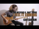 I Feel It Coming - The Weeknd ft. Daft Punk - Guitar Jam by Andre Antunes