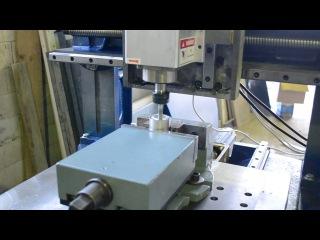 Чугунный станок с чпу для металлообработки 600х600, cnc