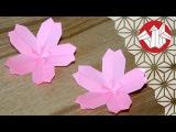 Tuto Origami - Sakura  Fleur de cerisier Senbazuru