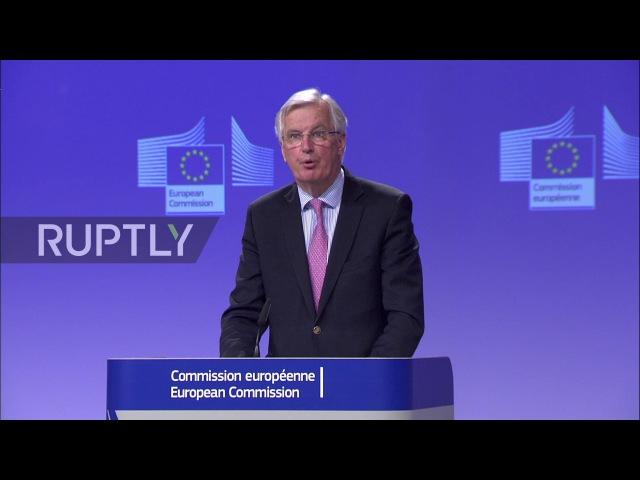 Бельгия: Быстрая и безболезненная Брексит «иллюзия», раздираемая главным переговорщиком ЕС.