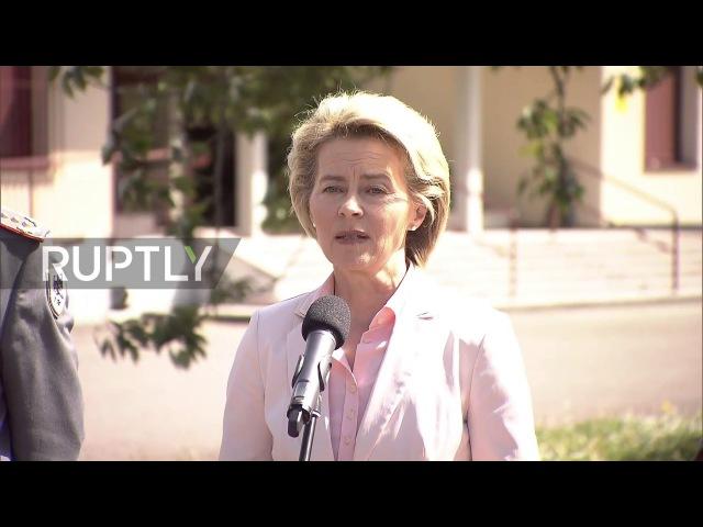Франция: Немецкий Министр Обороны посещает казармы, где служит «экстремистский» лейтенант.