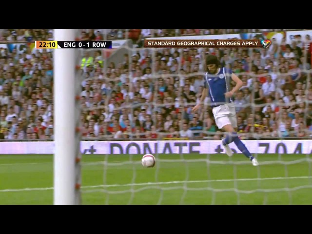 [HD] Sergio Pizzorno's Stunning Wonder Goal During Soccer Aid 2012 at Old Trafford [HD]