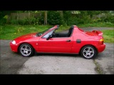 Now Sold! Honda CRX VTec Del Sol, Electric Roof Operation Demo. by Lucy