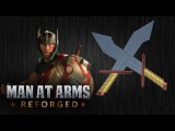 Thor's Dual Swords - Thor Ragnarok - MAN AT ARMS REFORGED
