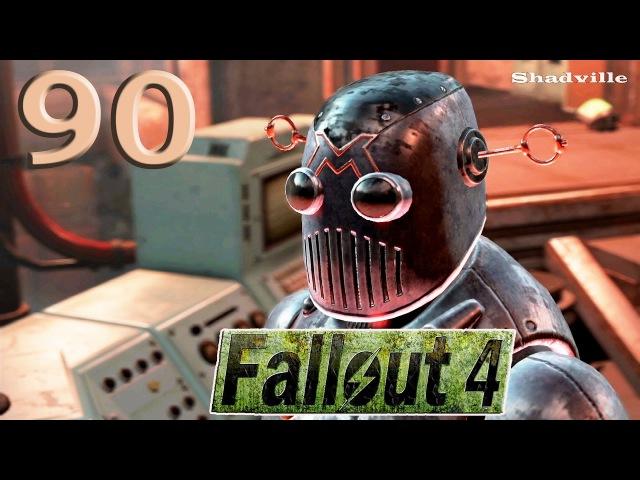 Fallout 4 Automatron (PS4) Прохождение 90: Механист