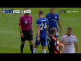 Gary Cahill Red Card - Chelsea 0-0 Burnley 12.08.2017 - vid