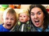 Bad Baby Эльза НАПАДАЕТ Bad Baby Elsa ATTACKS Evil Baby Frozen Elsa Twin video for KIDS ROMA TIME