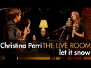 Christina Perri - Let It Snow captured in The Live Room