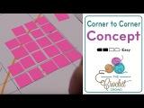 How to Change Crochet Corner to Corner (C2C) to Rectangle