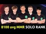 8100 avg MMR  full OG met in Solo Ranked