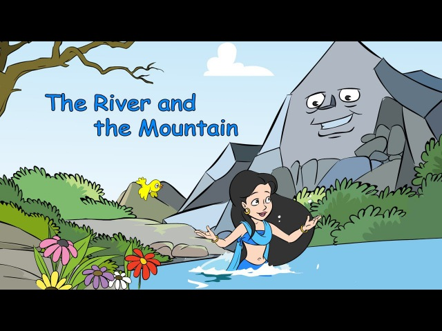The River and the Mountain Learn English IND with subtitles Story for Children