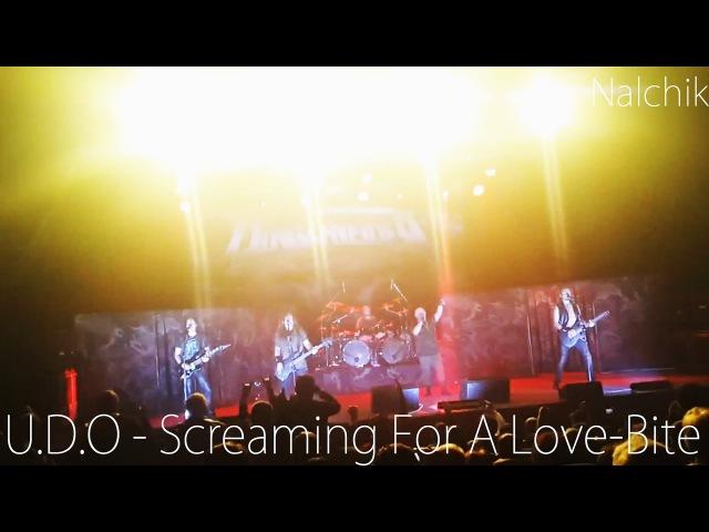 U.D.O - Screaming For A Love-Bite (КОНЦЕРТ В НАЛЬЧИКЕ - 21.11.2016)