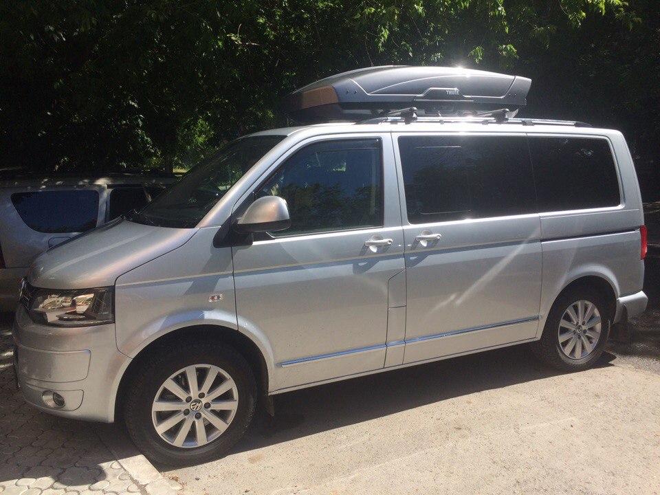 Бокс на крышу Volkswagen Multivan