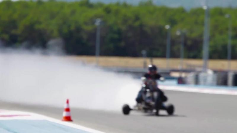 261 kph WATER ROCKET TRIKE ǀ 0-100 kph in 0.55 second (5.1g) ǀ Rider_ François G
