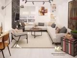 Дизайн-проект дизайнера Дарьи для двухкомнатной квартиры 66,38 кв/м для ЖК